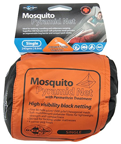 Sea to Summit Mosquito Net AMOSSP Single with Permethrin Treatment