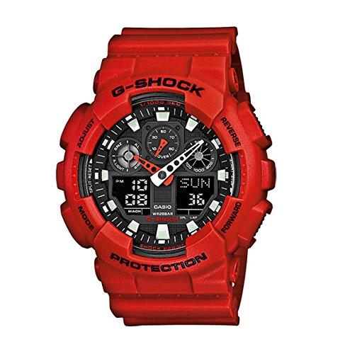 Montre Homme Casio G-Shock GA-100B-4AER