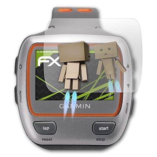atFoliX Protection d'écran pour Garmin Forerunner 310XT Miroir Film Protecteur - FX-Mirror Film Protecteur avec Effet Miroir