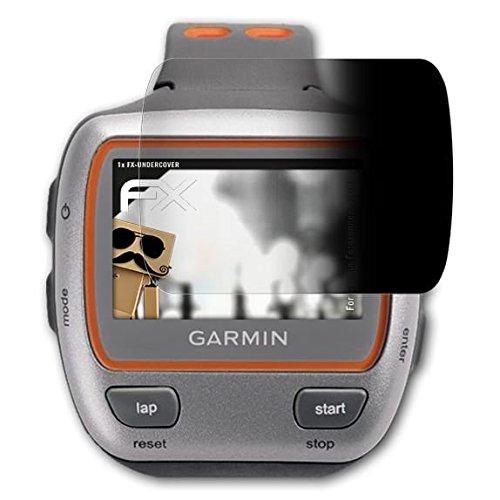 atFoliX Filtre de confidentialité pour Garmin Forerunner 310XT Film de Protection confidentiel - FX-Undercover Vie privée à 4 Voies Film Protection d'écran
