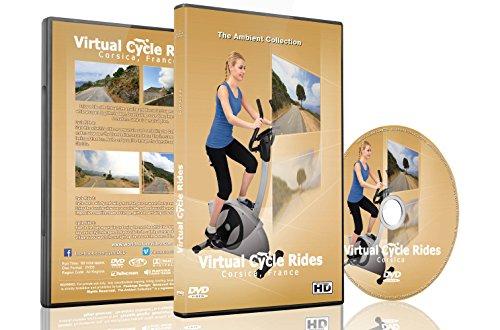 Promenades Virtuelles À Vélo - La Corse - pour vélo d'appartement tapis roulant et exercices d'intérieur
