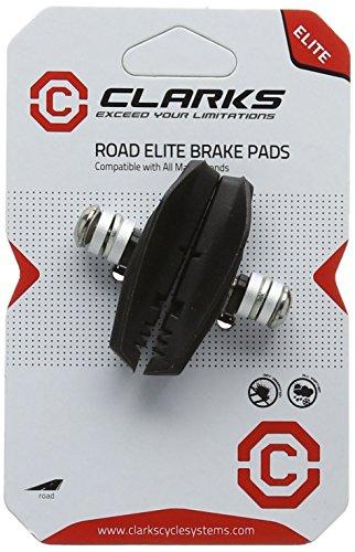 Clarks Gold Patin de frein pour vélo de route Compatible avec systèmes Shimano et Sram 55mm