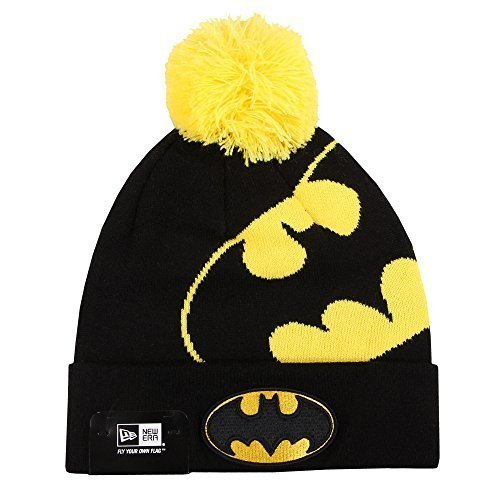 NEW ERA Bonnet bonnet D' HIVER Casquette Unisexe Oakland Raiders Yankees de New York Batman Superman Marvel etc. - Batman #Z7, one size