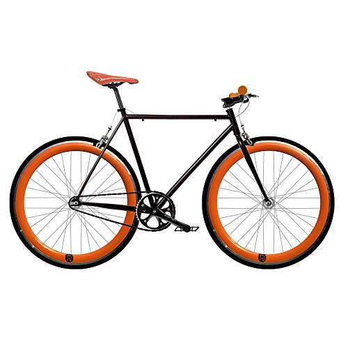 Mowhel Vélo Fix 2 Orange. Vitesse Unique Fixie/Single Speed. Taille 56