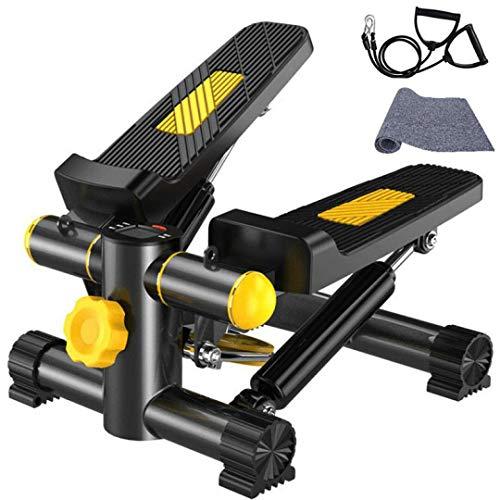 Vinteky Stepper Twister 2 en 1 Mini Stepper avec Cordes Élastiques Poids supporté jusqu'à 100kg