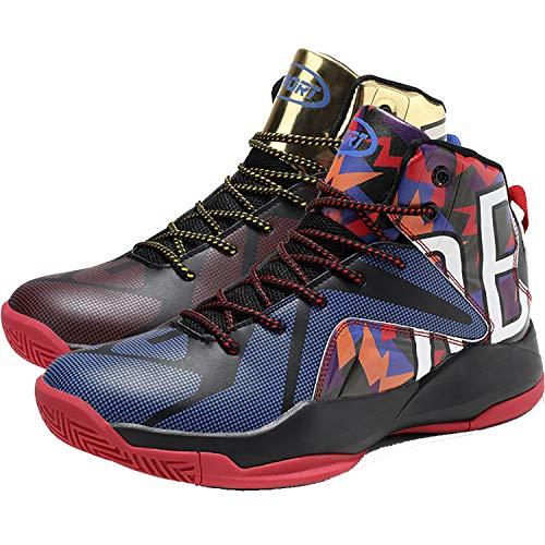 Chaussures de Basketball Homme, 10-multicolore, 39 EU