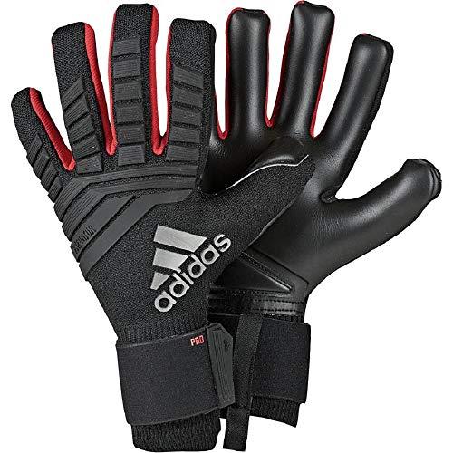 adidas Predator Pro Gants Gardien de But Mixte Adulte, Black/Active Red, FR : L (Taille Fabricant : 8)