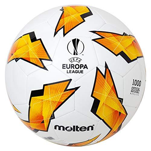 Molten Réplique du UEFA Europa League–1000Modèle Ballon de Match Officiel Size 5 Orange