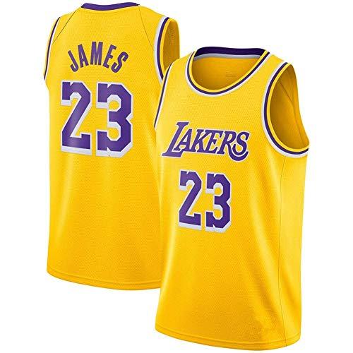 LinkLvoe Maillot NBA Lakers 23 Basketball, Maillot Hommes Tissu Haut de Gamme Respirant et à séchage Rapide