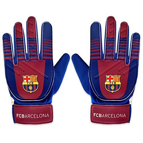 FC Barcelone officiel - Gants de gardien de but - football - pour enfant - Enfant : 10-16 ans