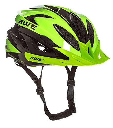 AWE AWEAir Remplacement DE Crash Gratuit 5 Ans * Moule Adulte Hommes en Cyclisme sur Route Casque 58-61cm Vert