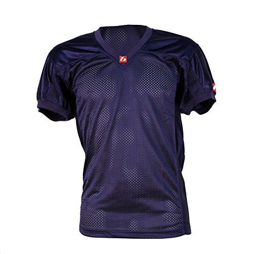 barnett FJ-2 maillot de football américain us match bleu marine S