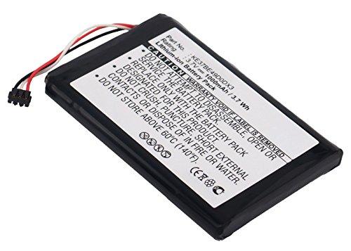 subtel Batterie pour Garmin Edge 800 Garmin Edge 810 - 1000mAh batterie de rechange Garmin KE37BE49D0DX3, Accu remplacement