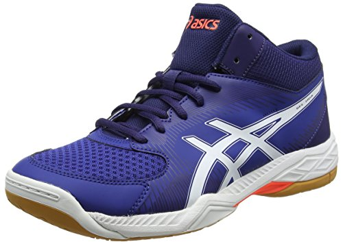 ASICS Gel-Task MT, Chaussures de Volleyball Homme, Multicolore (Limogeswhiteastral Aura), 45 EU
