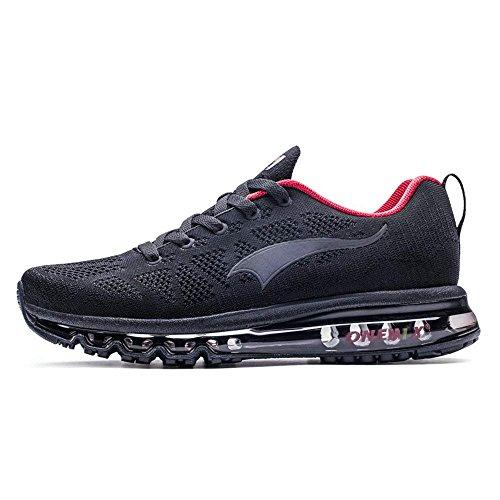 ONEMIX Chaussures de Course Air Max Hommes - 2018 3D Knit Flyknit Chaussures de Marche légères Sports de Plein air Sports Jogging Gym Trainer Sneaker - HH43