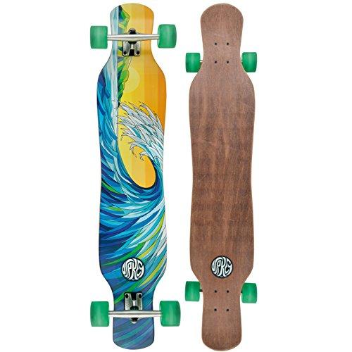"""Osprey Wave 46"""" Complete Twin Tip Longboard Skateboard"""
