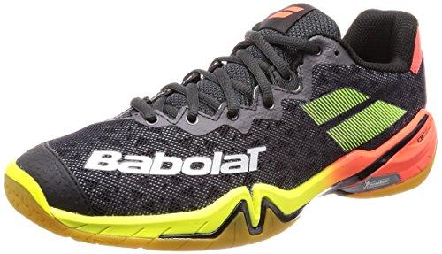 Babolat Chaussures de Tennis en Salle Shadow Tour pour Homme, Noir, 43