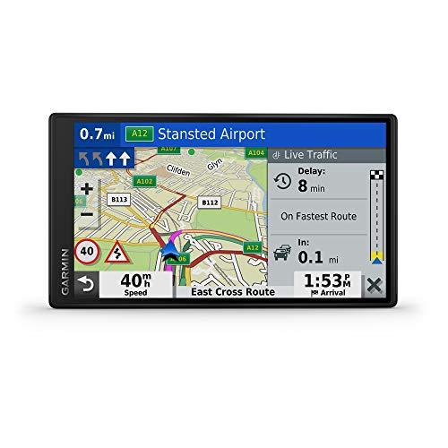 DriveSmart 55 EU LMT-D - Carte Europe entière (46 Pays) + cble info-trafic Inclus