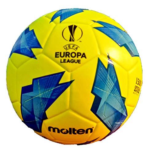 Molten F5u1500Ballon de Foot UEFA Europa League 2019Taille 5Jaune