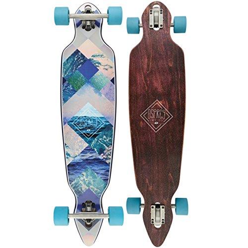 Osprey Diamond Longboard Mixte Adulte, Bleu, Size 40.5
