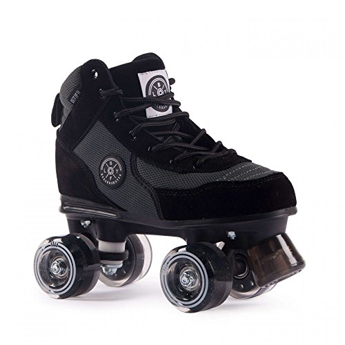 BTFL Trends- Rollschuhe Luca, für Damen, Mädchen, Discoroller, Rollerskates, Schwarz, 39