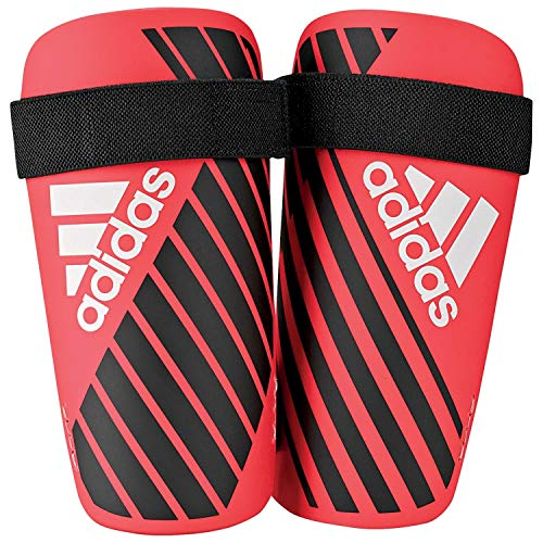 adidas X Lite Guard protège-Tibias Mixte Adulte, Active Red/Black/Off White, FR : M (Taille Fabricant : M)
