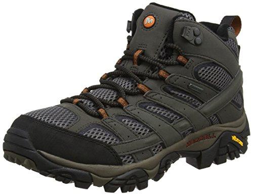 Merrell Moab 2 Mid GTX, Chaussures de Randonnée Hautes Homme, Gris (Beluga), 47 EU