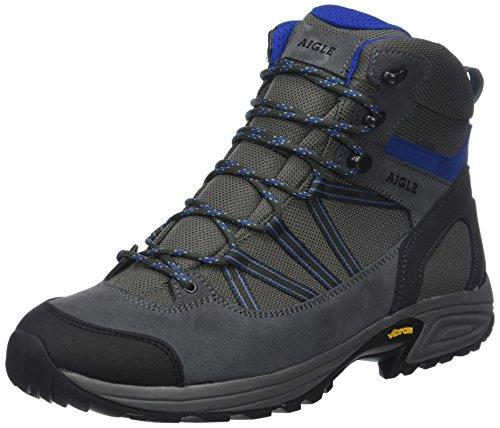 Aigle MOOVEN Mid Gore-Tex Chaussures de Randonnée Hautes Homme, Gris (Midgrey/Capri) 43 EU