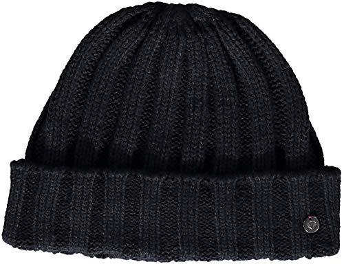 Fraas Bonnet Manchette pour Homme - Bonnet en Tricot Unicolore de Haute qualité - Taille Unique pour la Plupart des Chapeaux d'hiver