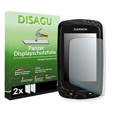 Garmin Edge 810 film de protection d'écran - 2 x DISAGU Film blindé pour Garmin Edge 810 film de protection contre la casse
