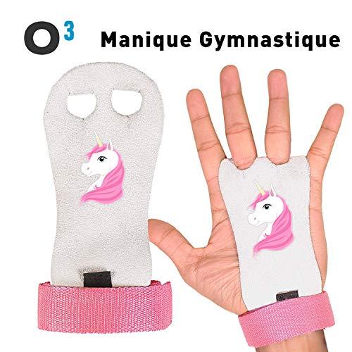 O³ Manique Gym - Paire de Maniques de Gymnastique pour Enfant - Parfait pour  la Gym 4701b5f513a