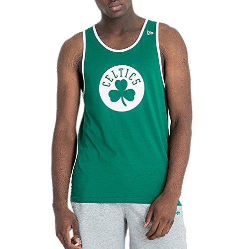 New Era NBA Team Apparel Pop Logo Tank (XLarge, Black - Chicago Bulls)