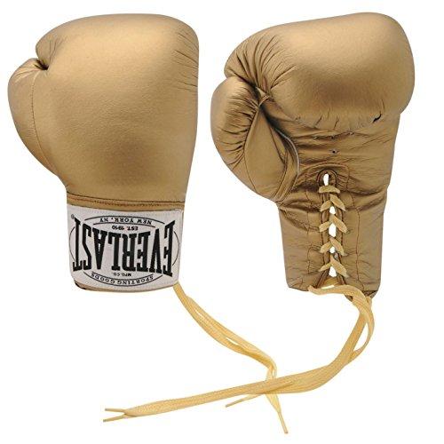 Everlast autographe Gants de boxe d'entraînement Sports équipement de protection - Or -