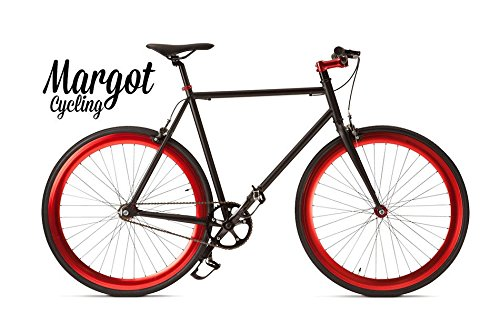 MARGOT Toro Loco – Single Speed, vélo fixie, Fixed, Urban Bike, Homme, 54