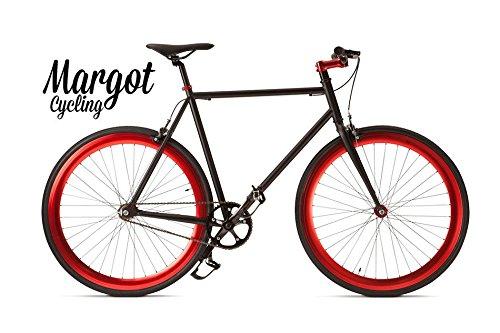 MARGOT Toro Loco–Single Speed, vélo fixie, Fixed, Urban Bike, Homme, 54