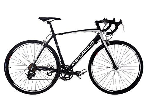 KS Cycling 235R Vélo de Course Homme, Noir, 28