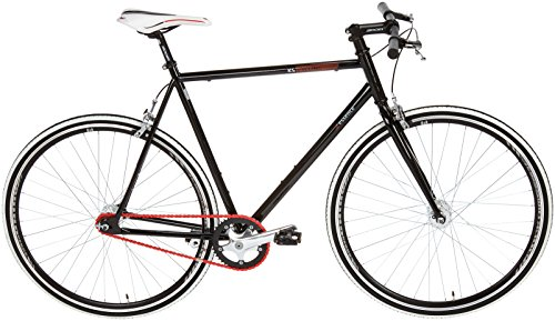 KS Cycling Essence Vélo Fixie 28' Noir 59 cm