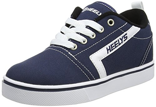 Heelys Chaussures de Fitness Mixte Enfant, Multicolore (Navy/White 000), 34 EU