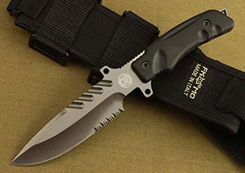 FARDEER KNIFE Couteau de Chasse Lame Fixe NO.3 en Camping et Randonnée