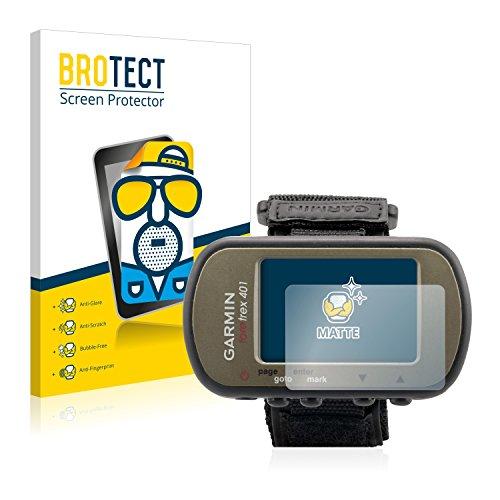BROTECT Protection Ecran Mat pour Garmin Foretrex 401 [2 Pièces] - Anti-Reflet, Anti-Rayures