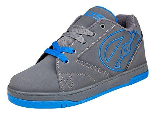 Heelys Propel 2.0, Chaussures de Tennis garçon, Gris (Grey/Royal), 38 EU