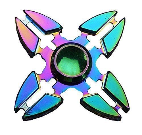 Fidget Spinner Jouet Fidget Hand Spinner Stress Reducer High Speed Ceramic Bearing Fidget Toy pour Adultes Enfant (A09)