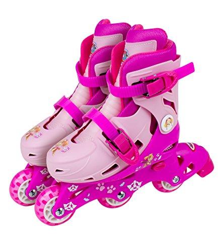 Rollers évolutifs 2 en 1 Pat Patrouille - Position patins ou rollers par système de visserie - Taille ajustable (27-30) - Enfants dès 3 ans - D'arpèje - OPAW084-F