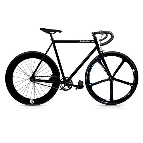 Vélo Fix 5 black. monomarcha Fixie/single speed. Taille 53