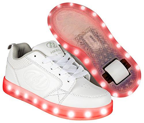 Heelys, Chaussures de Fitness Mixte Enfant, Blanc (Triple White 000), 35 EU