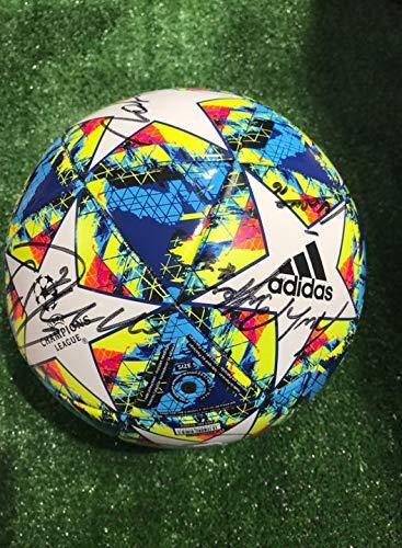 Maestri du Football Ballon Europe Champions League Blanc autographe F.C. Juventus 2019/2020 Signature Joueurs Juve
