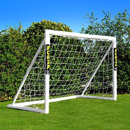 EuroMarkt Forza Buts de Football PVC de Jardin pour Les Enfants - Disponibles dans Cinq Tailles [Net World Sports] (0,9m x 0,75m)