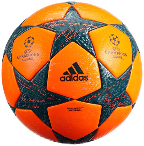 Adidas Ballon de Match Officiel Hiver Finale UEFA Champions League 16/17, Taille: 5