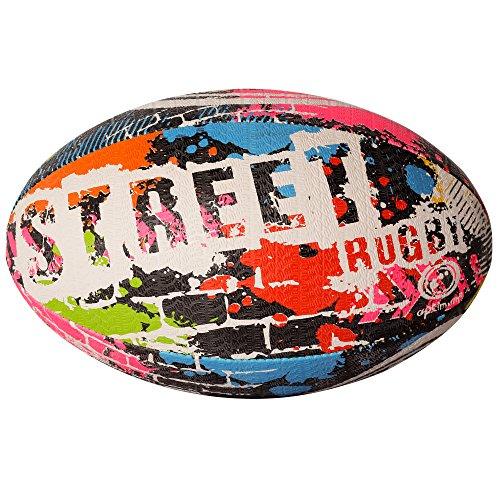 Ballon d'Entraenement de Rugby Street - size 4