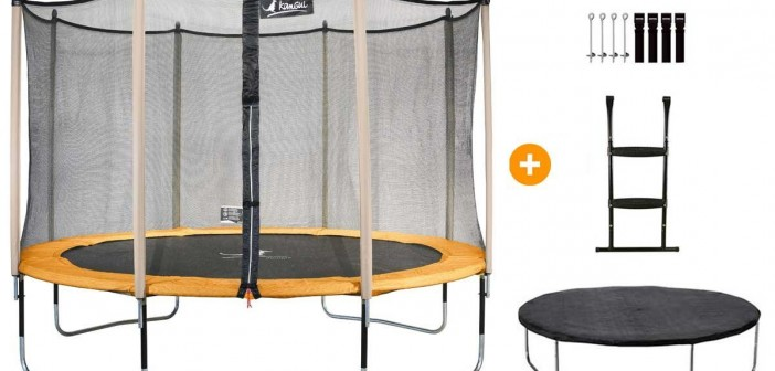 trampoline kangui les prix et mod les trampoline de jardin loisirs sportoza. Black Bedroom Furniture Sets. Home Design Ideas